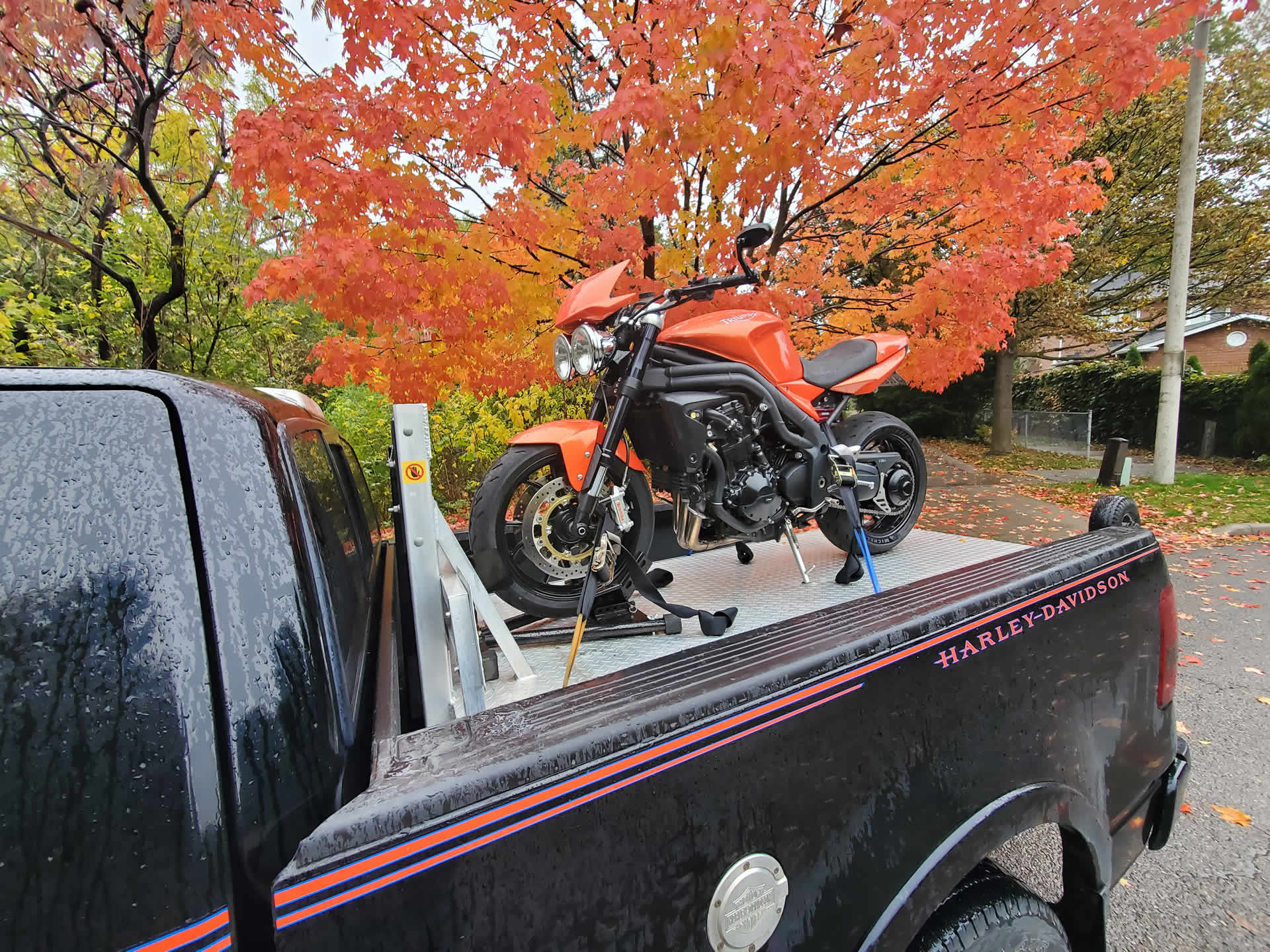 motorcycle towing toronto